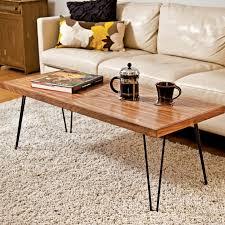 hairpin leg coffee table round billy coffee table with hairpin legs by renn uk regarding leg ideas