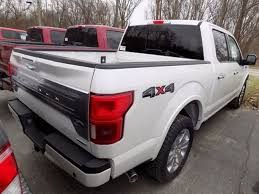 new 2018 ford f 150 truck white platinum clearcoat metallic for