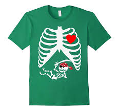 Womens Halloween T Shirts by Pirates Baby Skeleton Halloween Shirt For Pregnant Women