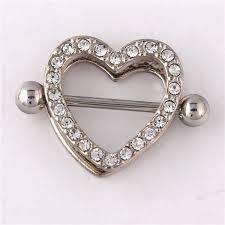 girl nipple rings images Heart piercing nipple rings 2015 new bulk stainless steel jpg