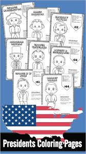 free printable coloring pages of us presidents free us presidents for kids these us presidents for kids free