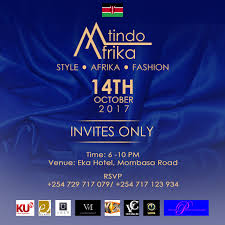 invites only third edition of mtindo afrika fashion show u2026 get your invite here