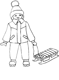 sleigh winter coloring pages u0026 coloring book