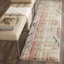 Safavieh Rug Pad Safavieh Monaco Collection Mnc222f Modern Bohemian