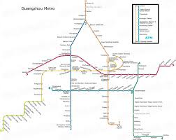 Guangzhou China Map by Guangzhou Metro Metro Map Real China