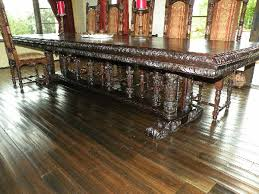 Renaissance Architecture Custom Renaissance Dining Table - Gothic dining room table