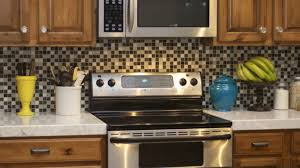 backsplash ideas for small kitchens granite top stained wooden