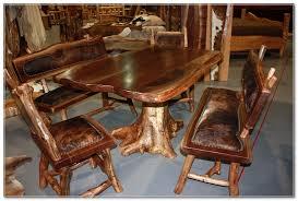 handmade wood handmade wood tables rustics log furniture