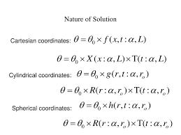 general heat conduction equation spherical coordinates derivation