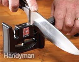 sharp kitchen knives learn how to sharpen a knife the family handyman