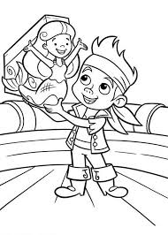 12 pics captain jake neverland pirates coloring pages