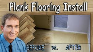 Installing Floating Laminate Wood Flooring How To Floating Wood Or Laminate Plank Flooring Installation
