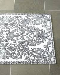White Bathroom Rugs Bathroom Rug Runner Remarkable Grey Bathroom Rugs Gray And White