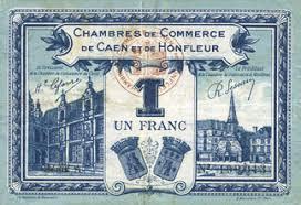 chambre du commerce caen banknotes emergency notes caen et honfleur 14 chambres de
