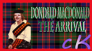 Donald Macdonald by Donald Macdonald The Arrival Youtube