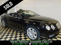 black convertible bentley second hand bentley continental gtc 6 0 w12 2dr auto mulliner