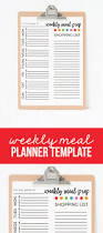printable menu planner template weekly meal planner template weekly meal planner template printable download and print this free weekly plan to help organize