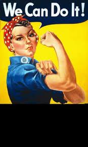 Rosie The Riveter Meme - create meme feminist feminist poster we can do it rosie the