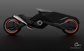 Futuristic Design by Estela Villas Plaza Futuristic Motorcycle Design