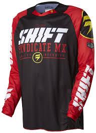 closeout motocross gear shift strike jersey revzilla