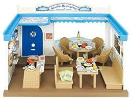 sylvanian families cuisine sylvanian families 4190 mobilier de poupée restaurant de bord