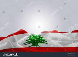 What Tree Is On The Lebanese Flag Waving Abstract Fabric Lebanon Flag On Stock Foto 295511066