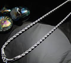 fashion jewelry necklace wholesale images Online shop cn7 4mm rope chain men necklace wholesale lots fashion jpg