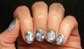 the little canvas lilac nail art the little canvas lilac nail art