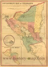Map History Map Of Nicaragua