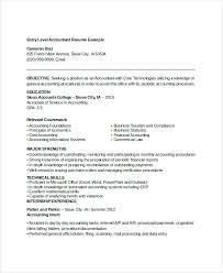entry level accounting resume exles entry accounting resume markpooleartist