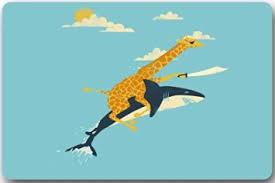 Giraffe Floor L Buy Fashionable Design Giraffe Shark Never Stop Dreaming
