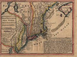 Map Of West New York Nj by 1720 U0027s Pennsylvania Maps