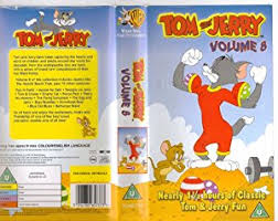 tom jerry volume 8 vhs tom jerry amazon uk video