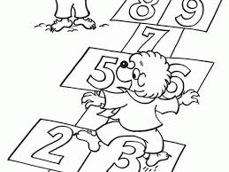 berenstain bears coloring sheets pages glum