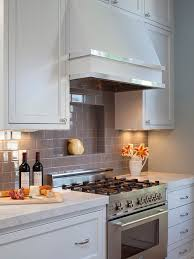 Gray Subway Tile Kitchen Kitchen Idea - Grey subway tile backsplash