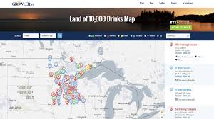Minneapolis Mn Zip Code Map by The Growler Launches Best Mn Booze Map Ever Kare11 Com