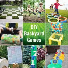 cool diy outdoor game ideas princess pinky