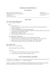 Graduated With Honors Resume Resume Samples Harvard Law Templates Graduate Template