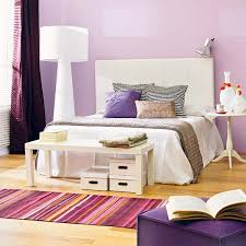 Purple Bedroom Design Purple And White Bedroom Combination Ideas