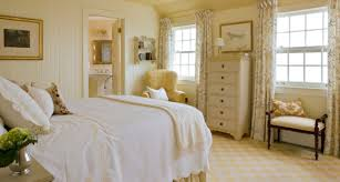 Bedroom With White Furniture Lovely Country Style Bedroom With White Walls And Mounted Cabinets