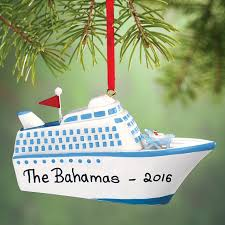 personalized cruise ship ornament kimball