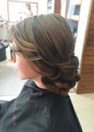 up style for 2016 hair simple romantic side swept updo prom bridesmaid hair