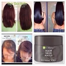 it works it works hair skin nails vitamins hsn from alisa u0027s
