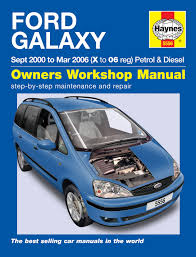 haynes workshop repair owners manual ford galaxy 00 06 x 06