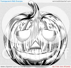 halloween black and white background clipart of a black and white carved halloween woodcut jackolantern