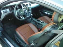 Saddle Interior Pictures Of Interior Packages Please The Mustang Source Ford