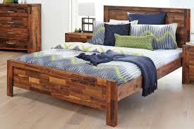 solomon king bed frame by nero furniture harvey norman zealand