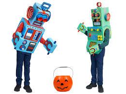 Robot Halloween Costume Box Robots Kids U0027 Cardboard Box Craft Project Dk Explore