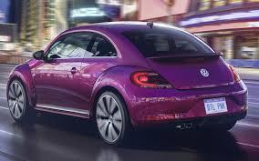 pink volkswagen beetle 2017 volkswagen apresenta novas versões do beetle em ny car blog br