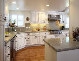 Kitchen Design Ideas With White Cabinets Kitchen Colors With Off White Cabinets Cream Fabric Small Rugs